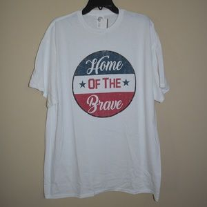 Trau Loevner Home of the Brave Tee